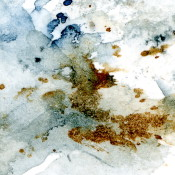 Ice Watercolor on Canson cold-pressed paper